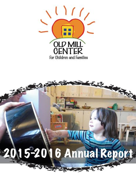 Old Mill Center 2014-15 Annual Report