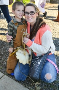 The Relief Nursery at Old Mill Center for Children and Families visits the pumpkin patch in Corvallis, Oregon
