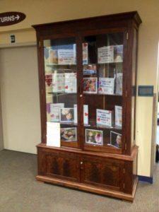 Display at Corvallis-Benton Public Library