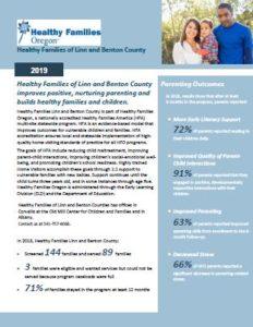 Healthy Families 2018 Program Summary