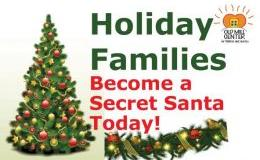"Holiday Families Gift Drive ""Secret Santa"""