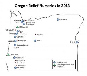 RN map Oregon 2013